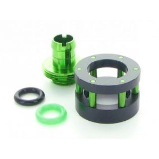 Product image of Monsoon CGF-1234-4-GR Monsoon Chain Gun Fitting 1/2 x 3/4 Multi Pack  Green