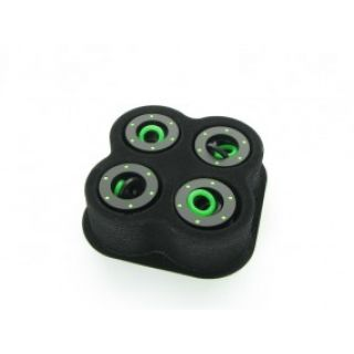 Product image of Monsoon CGH-3812-4-GR Monsoon Chain Gun Hardline 3/8 X 1/2 (13mm) 4 Pack - Green