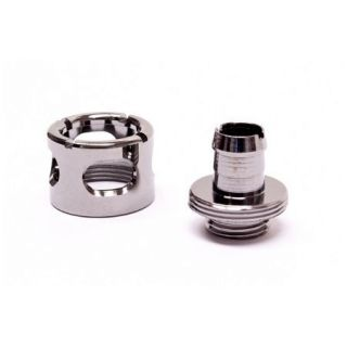Product image of Monsoon FCC-3812-1P-BC Monsoon 13/10mm (ID 3/8 OD 1/2) Free Center Compression Fitting - Black Chrome