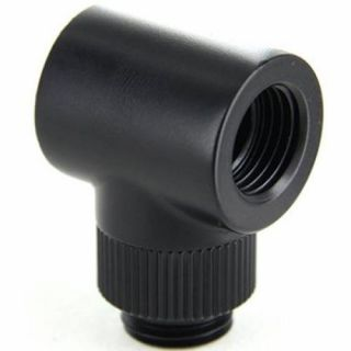 Product image of Monsoon 13/10mm (OD 1/2) Rotary 90 - Matte Black
