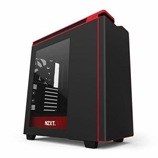 Product image of NZXT CA-H442W-M1 NZXT H440 New 2015 Edition Case - Matte Black & Red