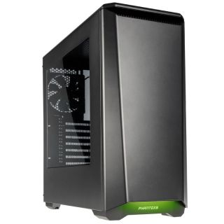 Product image of Phanteks PH-EC416PSW_AG Phanteks Eclipse P400S Midi Tower Case - Noise Dampened Gun Metal Window