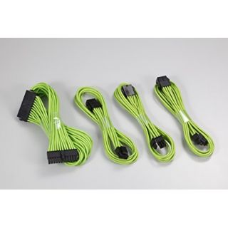 Product image of Phanteks Extension Cable Combo Kit - Green