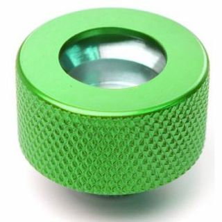 Product image of PrimoChill F-RCKG3812 PrimoChill Ghost Compression Fitting Acrylic Tube 13/10mm - Green