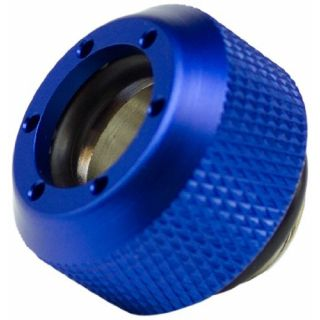Product image of PrimoChill F-RCDKBL3812 PrimoChill Revolver Compression Fitting Acrylic Tubes 13/10mm Diamond. - Blue