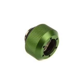 Product image of PrimoChill F-RCDKG3812 PrimoChill Revolver Compression Fitting Acrylic Tubes 13/10mm Diamond - Green