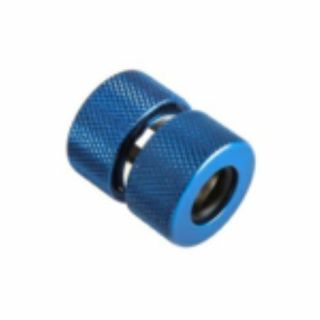 Product image of PrimoChill F-RCCKBL3812 PrimoChill Ghost Coupling for Acrylic Tubes 13/10mm - Blue