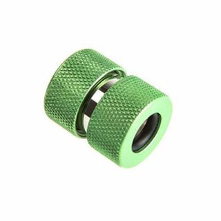 Product image of PrimoChill F-RCCKG3812 PrimoChill Ghost Coupling for Acrylic Tubes 13/10mm - Green