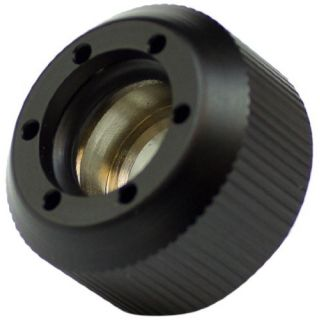 Product image of PrimoChill Revolver Compression Fitting Acrylic Tube 13/10mm grooves - Black