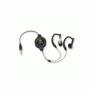Product image of Retrak EUAUDIOWRP Retractable Stereo Earbuds with Ear-Wrap