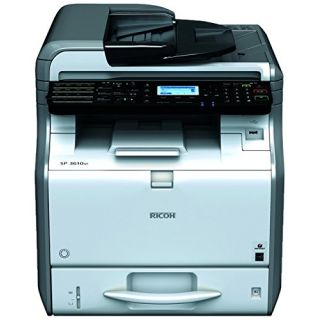 Product image of Ricoh SP 3610SF (A4) Mono LED Desktop Multifunction Printer (Print/Copy/Scan/Fax) 512MB 31ppm 50000 (MDC)