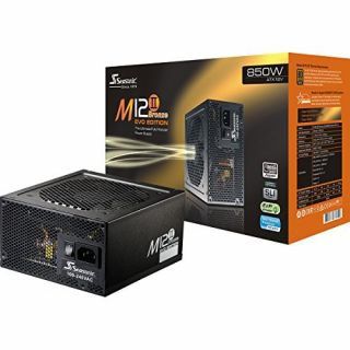 Product image of Seasonic SS-850AM2 Seasonic M12II EVO Edition 850W '80 Plus Bronze' Fully Modular Power Supply