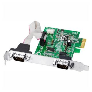 Product image of Siig JJ-E10D11-S3 SIIG Dual serial PCI-e 1x LP