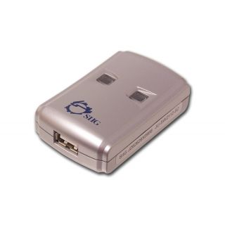 Product image of Siig JU-SW2112-S2 Siig USB 2.0 Switch 2-to-1