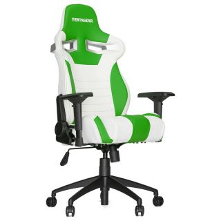 Product image of Vertagear Racing Series S-Line SL4000 Gaming Chair - White/Green Edition