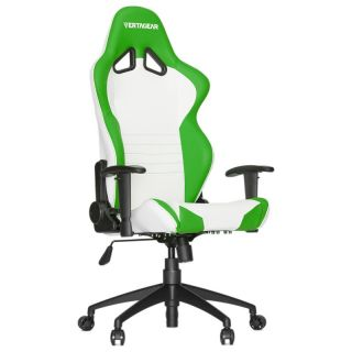 Product image of Vertagear Racing Series S-Line SL2000 Gaming Chair - White/Green Edition