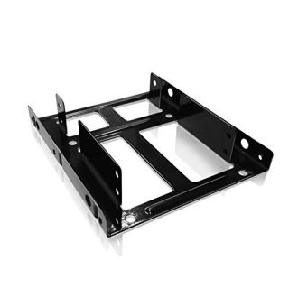 Product image of RAIDSONIC - CABLES ADAPTERS HUBS MOUNTING FRAME FOR 2X 25IN SSD HDD IN A 3.5IN BAY METAL
