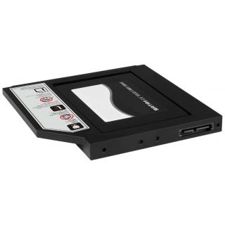 Product image of RAIDSONIC ADAPTER FOR SSD SATA DVD BAY + SLIM DVD ENCLOSURE