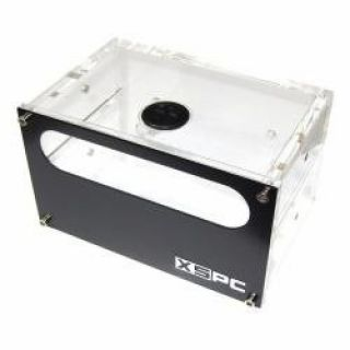 Product image of XSPC 5060175580801 XSPC Dual 5.25 Bay Reservoir (Alu Front)