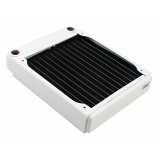 Product image of XSPC EX140 Single Fan Radiator (White)