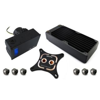 Product image of XSPC RayStorm Pro D5 Bayres RX240 WaterCooling Kit