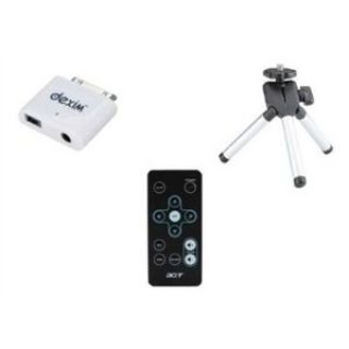 Product image of Acer 3-in-1: Remote Control + iPod Adaptor + Tripod for C20 Pico Projector