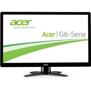Product image of Acer G6 Series G206HQLCb (19.5 inch) LED Widescreen Monitor 100M:1 200cd/m2 1600x900 5ms VGA (Black)