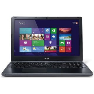 Product image of Acer Aspire E1-570-33214G75Mnkk (15.6 inch) Notebook PC Core i3 (3217U) 1.8GHz 4GB 750GB DVD-SuperMulti DL WLAN BT Webcam Windows 8.1 64-bit (HD Graphics 4000) Black