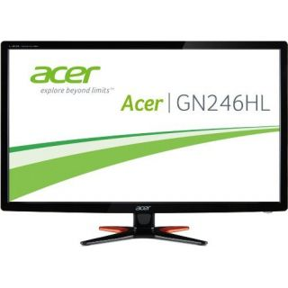 Product image of Acer G6 Series G246HLBbid (24 inch) Full HD LED Backlit LCD Monitor 100M:1 350cd/m2 1920x1080 1ms HDMI/DVI