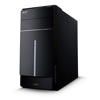Product image of Acer Aspire TC-120 (30L) Full Size Tower PC Quad Core A10 (6700) 3.7GHz 8GB 1TB DVD-RW WLAN Windows 8.1 64-bit (Integrated Graphics)