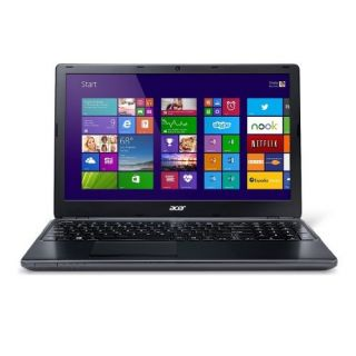 Product image of ACER NX.M81EK.010 Acer E1-522 15.6 INCH Black AMD A4-5000 Quad Core 4GB 1000GB HDD Shared DVDML Win 8.1 OS