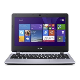 Product image of Acer Aspire E3-112 (11.6 inch) Notebook PC Celeron (N2840) 2.16GHz 4GB 500GB WLAN BT Webcam Windows 8.1 with Bing HD Graphics (Silver)