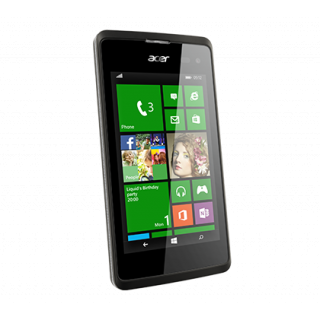 Product image of Acer Liquid M220 (4 inch) Smartphone Dual Core 1.2GHz 512MB 4GB WLAN 3G Camera Windows Phone 8.1 (Black)