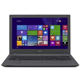 Product image of Acer Aspire E5-573 (15.6 inch) Notebook PC Core i7 (5500U) 2.4GHz 8GB 1TB DVD±RW WLAN BT Webcam Windows 8.1 64-bit (HD Graphics 5500) Grey