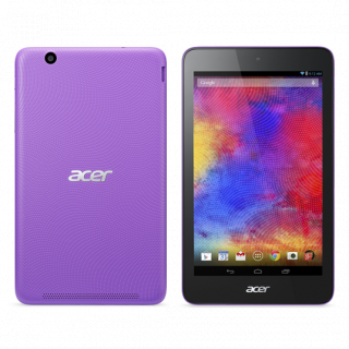Product image of Acer Iconia One B1-750 (7 inch) Tablet Atom (Z3735) 1.33GHz 1GB 16GB eMMC WLAN BT Camera Android 4.4 KitKat (Purple)