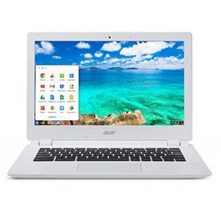 Product image of Acer CB5-571 (15.6 inch) Chromebook Celeron (3205U) 1.5GHz 2GB 32GB SSD WLAN BT Webcam Chrome OS HD Graphics (White)