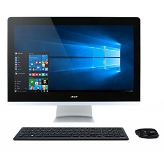 Product image of Acer Aspire Z3-710 (23.8 inch) All-in-One PC Core i5 (4590T) 2GHz 8GB 1TB DVD±RW WLAN BT Webcam Windows 10 Home 64-bit (GeForce 840M)