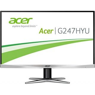 Product image of Acer G7 Series G247HYUsmidp (24 inch) ZeroFrame WQHD IPS LED Monitor 100M:1 300cd/m2 2560x1440 4ms DisplayPort/HDMI/Dual-Link DVI
