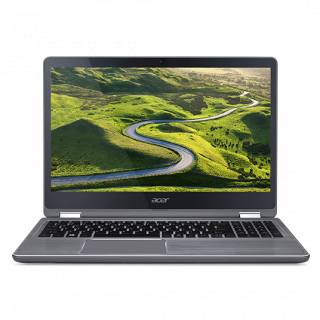 Product image of ACER NX.GCCEK.009 Aspire R5-571T - Iron - 15.6 INCH FHD IPS Multi-Touch Core i5-6200U 8GB 256GB SSD UMA No ODD Windows 10
