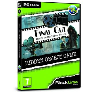 Product image of Final Cut: Death on the Silver Screen Hidden Object Game for PC (CD-ROM)