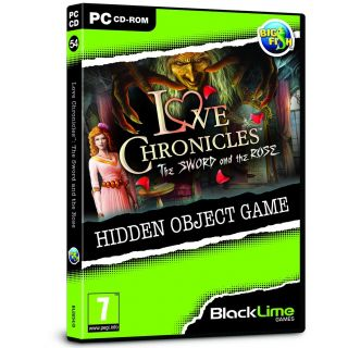 Product image of Love Chronicles The Sword And The Rose Hidden Object Game for PC (CD-ROM)