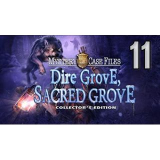 Product image of Mystery Case Files (11) Dire Grove Sacred Grove Collectors Edition Hidden Object Game for PC (DVD-ROM)