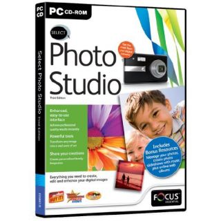 Product image of Focus Multimedia Select Photo Studio 3rd Edition for PC (CD-ROM)