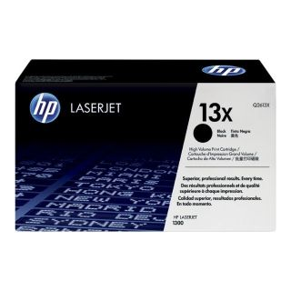 Product image of HP 13X Black Smart Print Cartridge  (Yield 4,000 Pages) for LaserJet 1300