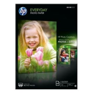Product image of HP Everyday (A4) Glossy Photo Paper (100 Sheets) 200gsm (White)
