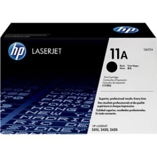 Product image of HP 11A Black LaserJet Smart Print Cartridge (Yield 6000 Standard Pages) for HP LaserJet 2410, 2420, 2430