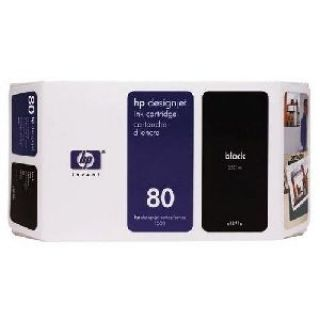 Product image of HP 80 Ink System Black 350ml
