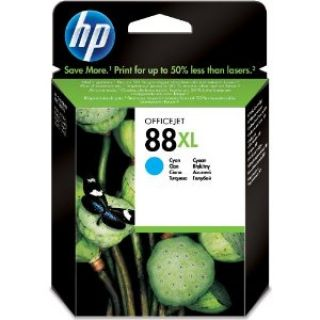 Product image of HP 88XL Cyan (Yield 1,700 Pages) 17ml Ink Cartridge with Vivera Ink