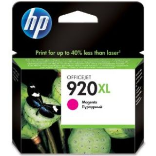 Product image of HP 920XL (Yield 700 Pages) Magenta Officejet Ink Cartridge
