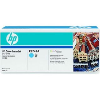 Product image of HP 307A Cyan Toner Cartridge (Yield 7,300 Pages) for HP Colour LaserJet CP5225